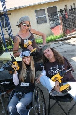 ABILITY House volunteers Los Angeles
