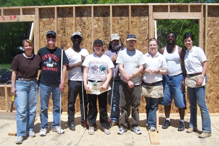 ABILITY House volunteers