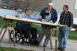 Indiana ABILITY House volunteer