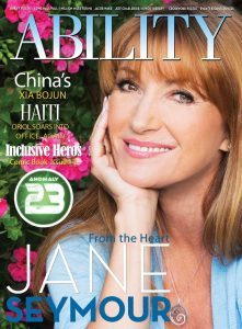 Jane Seymour cover ABILITY Magazine